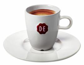 12 stuks Schotel Douwe Egberts espresso wit
