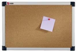 Prikbord Nobo 60x45cm kurk