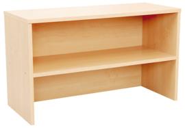 Opzetkast voor de boekenkast