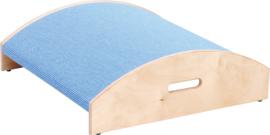 Vierkant bol platform, hoogte: 10 cm, lichtblauw