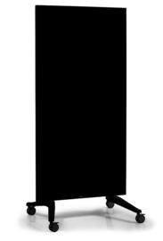 Mobiel Glassboard zwart Voor een stijlvolle werkomgeving
