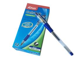 A+plus gel pen 0.6 mm blauw