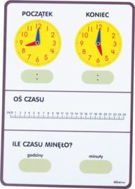 Tijdbord - voor leerlingen