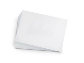 tekenpapier 80 grams 250vel 42x29,7cm - Wit