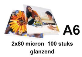 Lamineerhoes GBC A6 2x80micron 100stuks