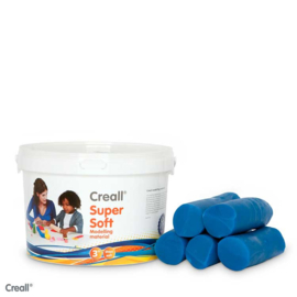 1750gr Creall-supersoft blauw