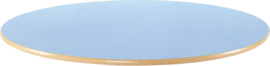 Rond Flexi tafelblad 120cm blauw los