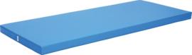 Anti-slip mat afm. 200 x 85 x 8 cm blauw