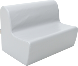 Medium bank zithoogte 26cm - grijs