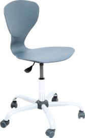Flexi stoel, draaibaar, met verstelbare hoogte, op wielen, 4 kleuren