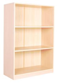 Hoge boekenkast met 2 planken
