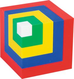 Blokken en constructie bouwen