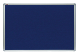 Textielbord groot, marine kleur
