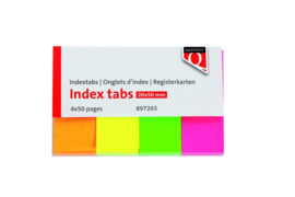 Indextabs Quantore 20x50mm neon