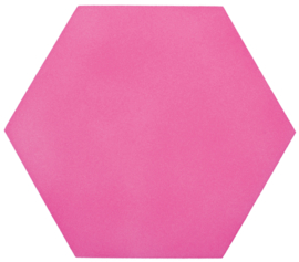 Geluiddempende hexagon - bubble gum, 40 mm
