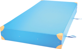 Dik  gym matras afm. 200x100x25cm - blauw
