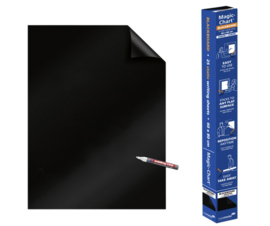 Magic-Chart Legamaster Whiteboard 60x80cm zwart 25 vel