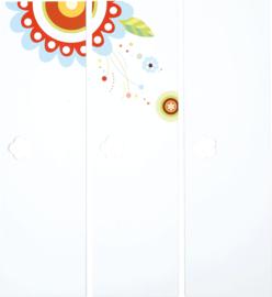 Deuren met print voor Mariposa 3 garderobe