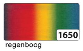 Crepepapier  rol 250x50cm nr1650 regenboog