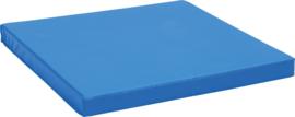Anti slip matras Afm. 90 x 90 x 8 cm  blauw