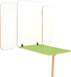 Klaptafel Flexi - groen  46-64cm