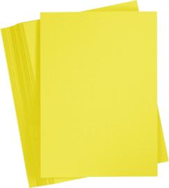 Knutselpapier geel