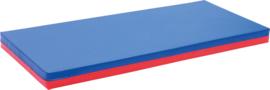 Matras marine/rood 160x60x8cm