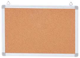 Prikbord in aluminium frame 35 x 45 cm