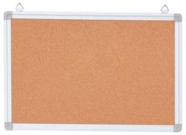Kurkbord in aluminium frame 35 x 45 cm