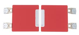 Quadro - garderobe deuren 180 - rood