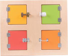 Verwisselbare panelen voor het 099130 sensorische huis - sloten