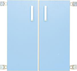 Deur voor niveau verhoger M (092818) - licht blauw