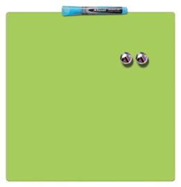 Whiteboard Rexel 36x36cm groen magnetisch