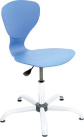 Flexi stoel, draaibaar, met verstelbare hoogte, 4 kleuren