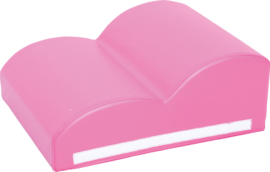 Foam baby hoek 60x20x50  - Roze