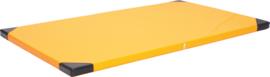 Schoolmat 200x120x6cm - oranje
