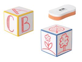 Beschrijfbare kubusset