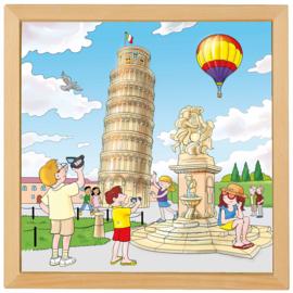 Puzzel toren van Pisa