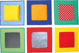 Vierkanten van textiel - basisset