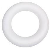 Tempex ringen  5 stuks  170mm - Wit