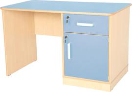 Flexi bureau de luxe - blauw