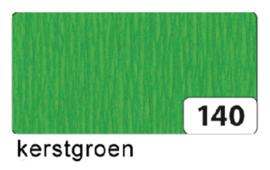 Crepepapier  250x50cm nr140 kerstgroen