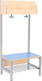 Flexi garderobe 2, zithoogte 35 cm - lichtblauw