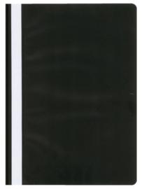 10x Snelhechter Quantore A4 PP zwart