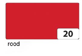Engels karton  2 zijdig 50x70cm 300gr nr20 rood