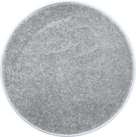 Rond tapijt - diam. 70 cm - grijs