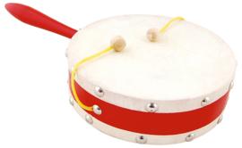 Kleine trommel met handvat