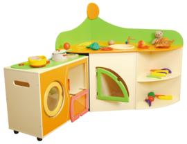 Sofia's keuken - Set hoekkast