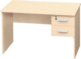 Vigo bureau met 2 laden - esdoorn