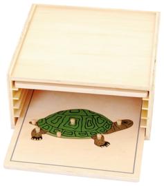 Puzzelkast voor dieren puzzels